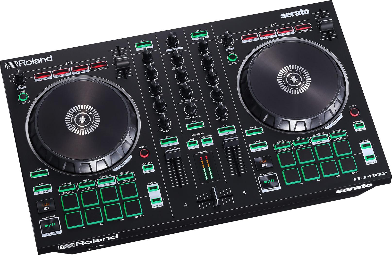 Djmania, Controlador Roland DJ-202 a 249€