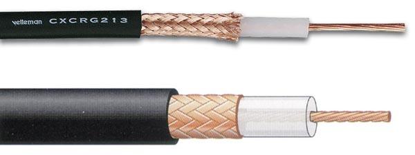 Cable coaxial rg 213 ubx negro djmania - Cable coaxial precio ...