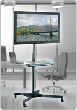 Soporte de suelo para tv monitor tft lcd 10 37 sts 414n - Soporte suelo tv ...