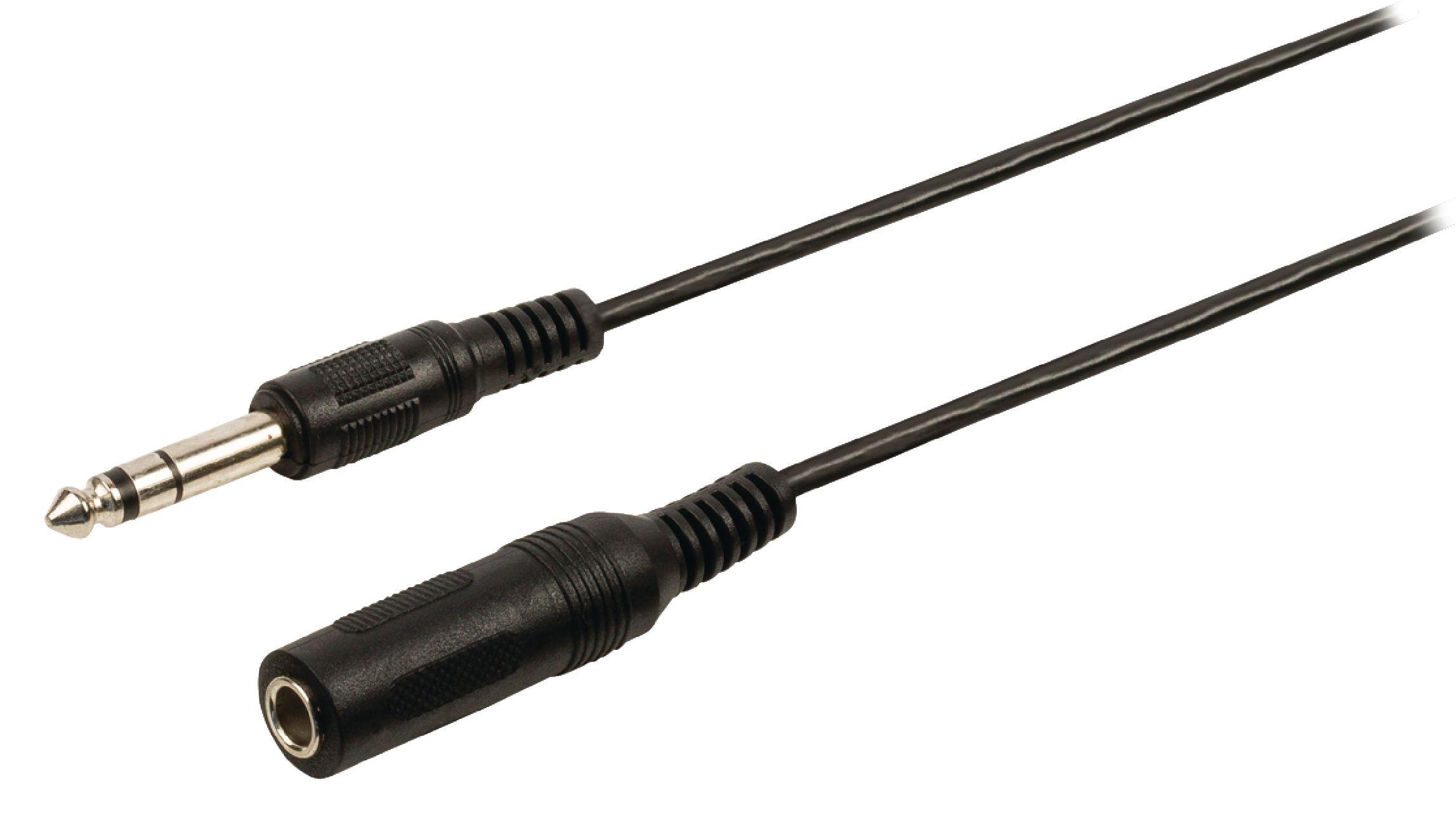 Cable De Extensi 243 N De Audio Jack Est 233 Reo Macho Hembra De 6