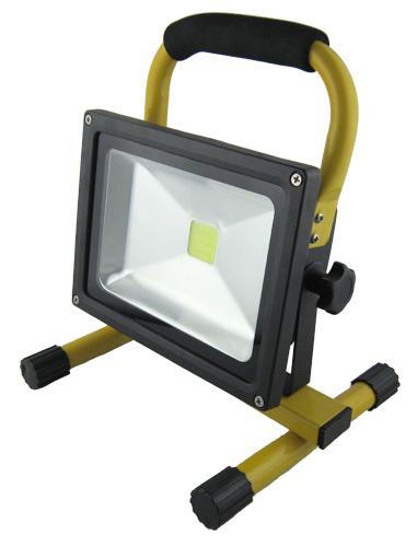 Foco led portable y recargable 20w ip65 djmania for Foco led recargable