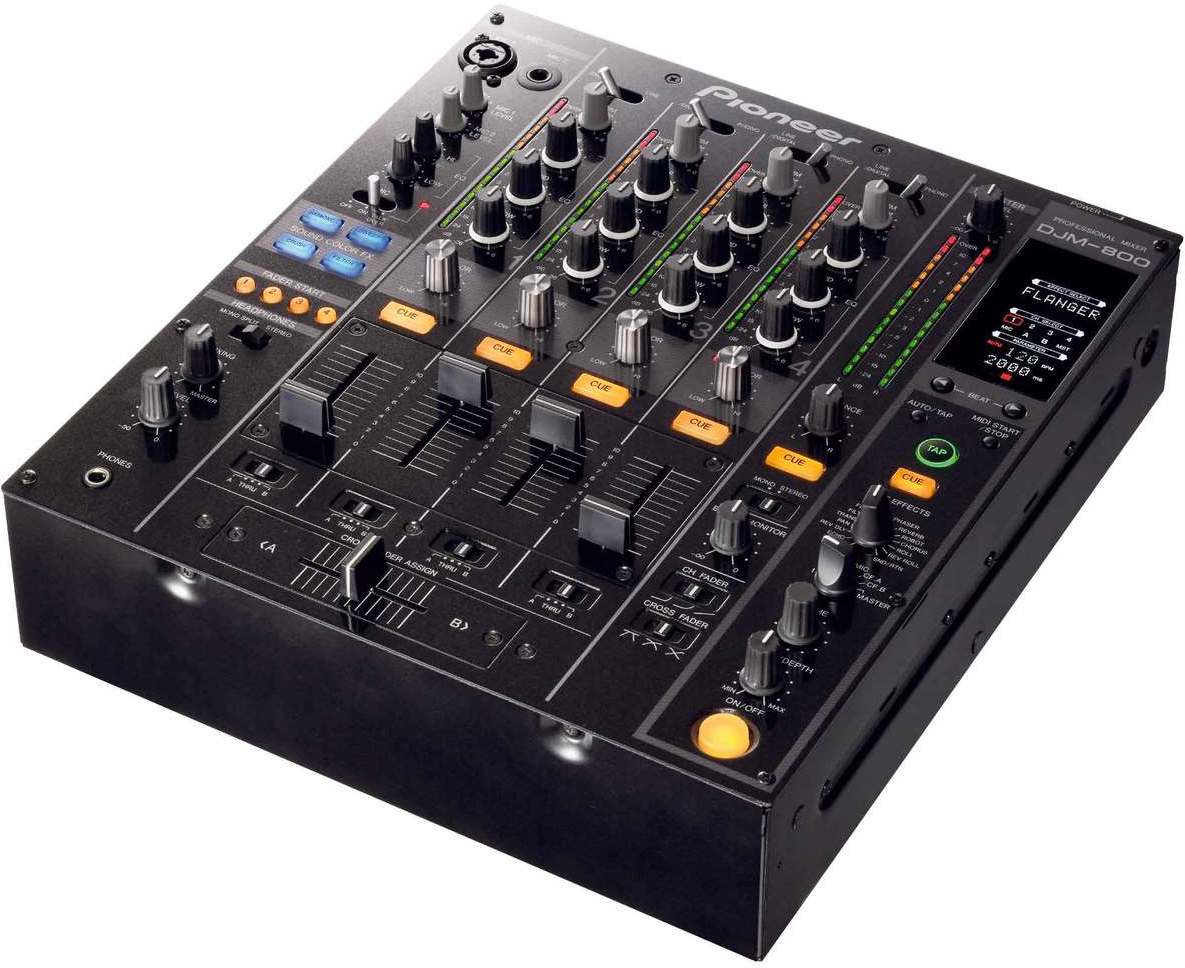 Pioneer djm 800 djmania for Mesa de mezclas de video