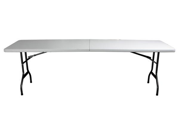Mesa plegable 243 x 76 x 74cm djmania for Inklapbare tafel