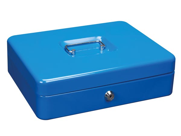 Caja de caudales color azul djmania for Caja de caudales
