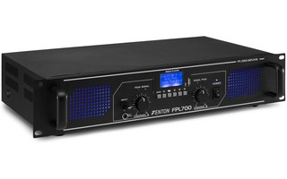 Fenton FPL500 Amplificador Digital LED azules + EQ
