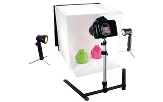 Foldable Mini Photo Studio Halogen 40 x 40 x 40 cm - König KN-STUDIO10NUK
