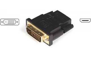 Adaptador DVI-D single link a HDMI