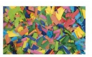 Showtec Recarga Confeti rectangular 55x17mm multicolor