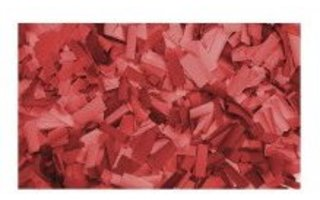 Showtec Recarga Confeti rectangular 55x17mm Rojo