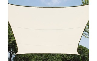 VELA DE SOMBRA - RECTANGULAR - 4 x 3 m - COLOR: CREMA