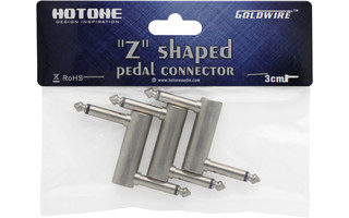 HoTone Z Shaped connector 3cm - Pack 3 U