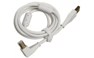 DJ TechTools Chroma Cable Blanco - Acodado