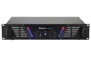 PA AMPLIFIER 2 X 480W - BLACK AMP600