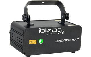 Ibiza Light LZR200 RGB Multi
