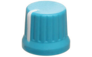 DJ Techtools Chroma Caps Fatty Knob Azul