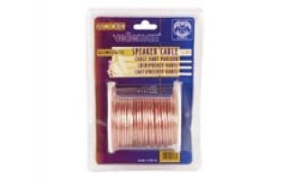 CABLE ALTAVOZ - TRANSPARENTE - 2 x 1.50mm² - 15m