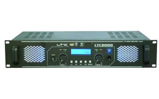 LTC Audio LTC 2000 amplificador con USB/SD/MMC-MP3