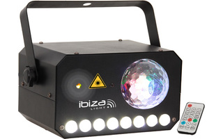 Ibiza Light CombiLAS 130mW + flash 8W