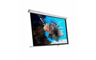 "Pantalla electrica videoproyector 135"" 2.4M x 2.4M"