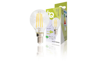 Lámpara LED Vintage Mini Globo 4.8 W 470 lm 2700 K - HQ HQLFE27MINI002