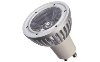 BOMBILLA LED 3W - COLOR BLANCO FRÍO (6400K) - 230V - GU10