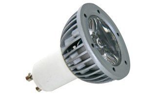 BOMBILLA LED 3W - COLOR BLANCO CÁLIDO (2700K) - 230V - GU10