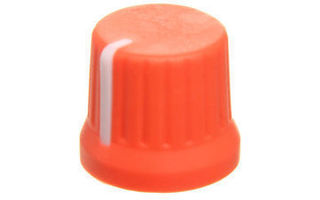 DJ Techtools Chroma Caps Fatty Knob Neon Naranja