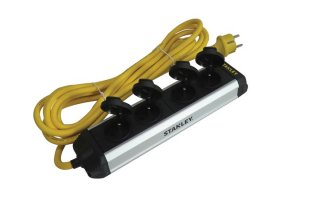 Stanley 4 conectores - IP44 - Power Bar - Máx potencia: 3680 W