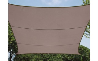 VELA DE SOMBRA - RECTANGULAR - 2 x 3 m - COLOR: GRIS TOPO
