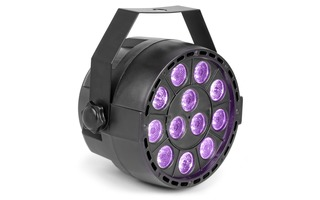 Max Foco PAR Party 12x1W UV DMX