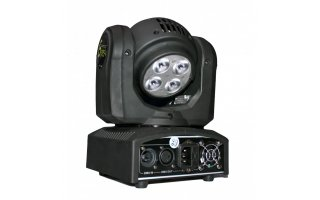 Imagenes de Cabeza Movil LED BEAM - Speedy 4 x 10W LED RGBW