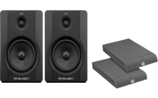 Pack : M-Audio BX5 +  Base Aislante