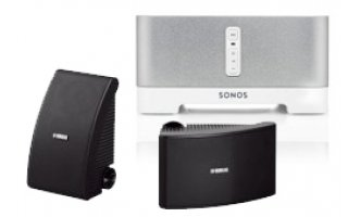 Sonos Connect:AMP + Yamaha NS-AW592 Negro