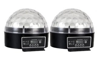 Pack : (2x) Zircon 36W LED RGB