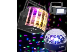 Party Light & Sound Party 3 Pack
