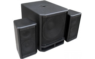 "Power Dynamics PD Combo 1800 Subwoofer 18"" +2x Satelites 10"""