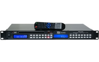 Power Dynamics PDC-60 Radio de 1 RU con reproductor USB/CD