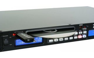Imagenes de Power Dynamics PDC-60 Radio de 1 RU con reproductor USB/CD