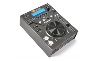 Power Dynamics PDX100 Reproductor Single Carga Superior CD/SD/USB/MP3