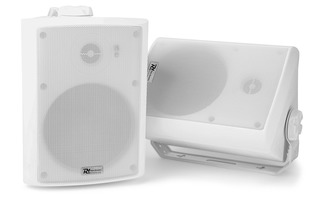 "Power Dynamics WS50A WiFi/Bluetooth - Pareja altavoces - 240W 5.25"" (Blanco)"