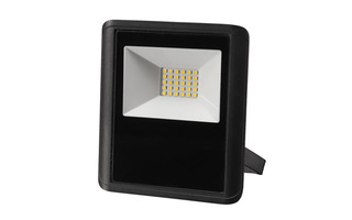 PROYECTOR LED PARA EXTERIOR - 20 W - BLANCO NEUTRO - COLOR NEGRO