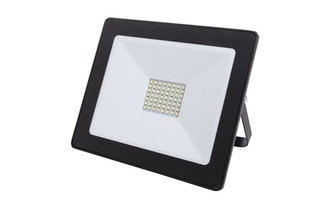 Proyector LED para exterior - 50 W - Blanco Neutro - Color Negro