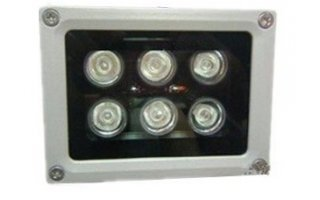 Proyector LEDs 6W exterior IP65 - Blanco frío