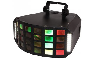 Ibiza Light Fury Strobe - Efecto LED 6x3 RGBA LED + Flash