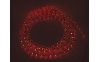 Manguera luminosa con LEDs - Color Rojo - 5m