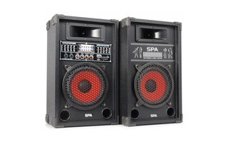 "SkyTec SPA800 Sistema Altavoces Activo 8"" SD/USB/MP3"
