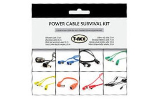T-Rex Effects Power cable survival kit