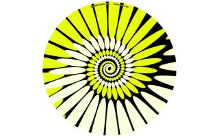 Slipmats Paint yellow Twin Pack