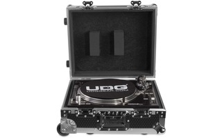 UDG Ultimate Flight Case Multiformat Tunrtable Silver Plus (Trolley con ruedas)
