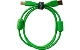 UDG Cable USB 2.0 A-B - Recto - Verde - 1 Metro
